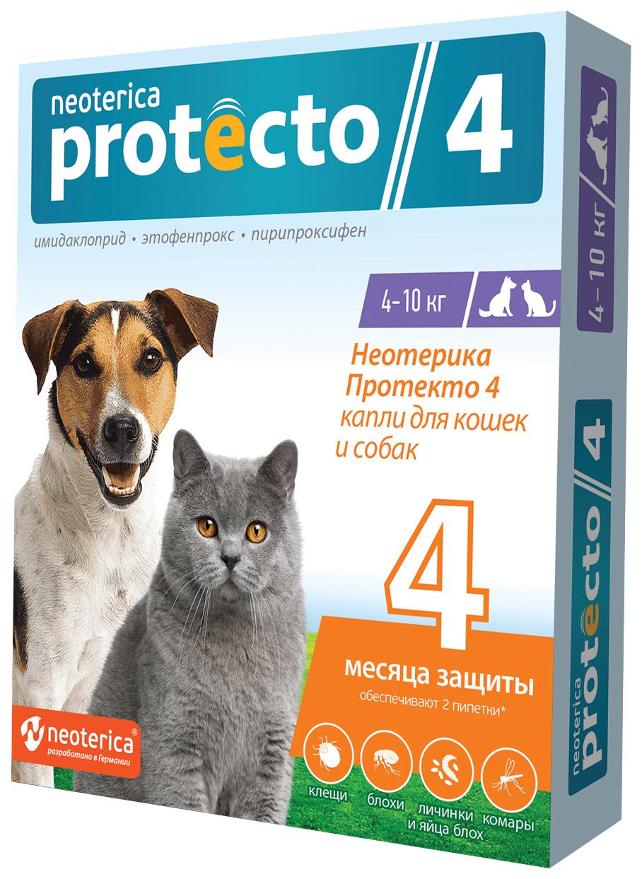 PROTECTO NEOTERICA 4,  капли для кошек