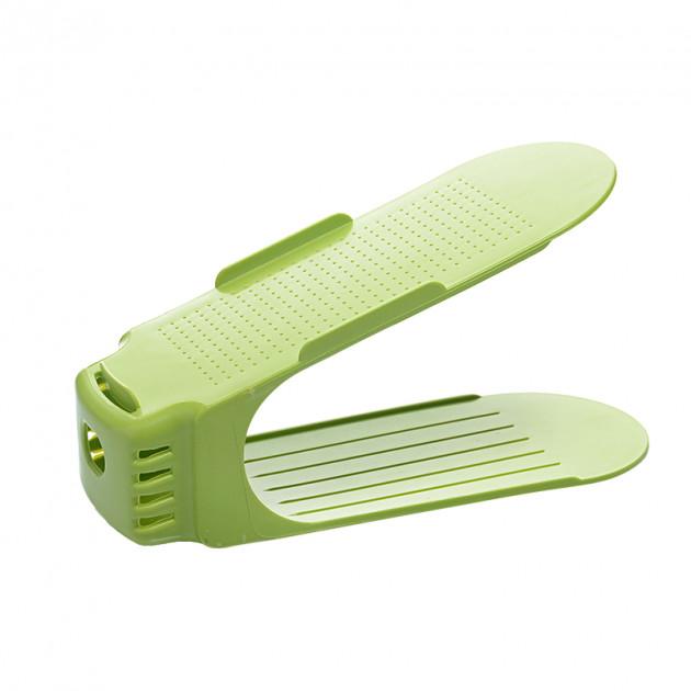 Подставки для обуви Double Shoe Racks (Зеленый)
