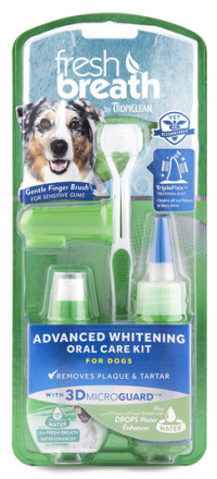 Отбеливающий набор для ухода за зубами собак