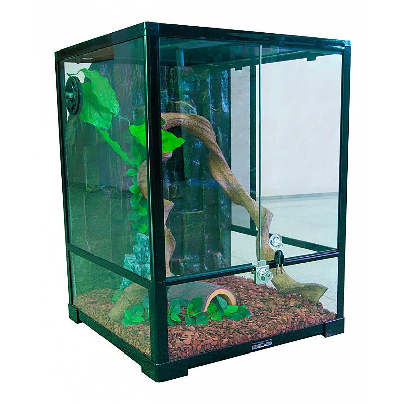 Террариум Reptizoo 0110RK сборный для рептилий, 45х45х60