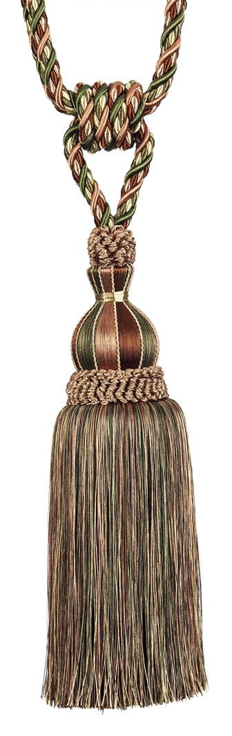 Кисть подхват для штор Gold Textile Velluto