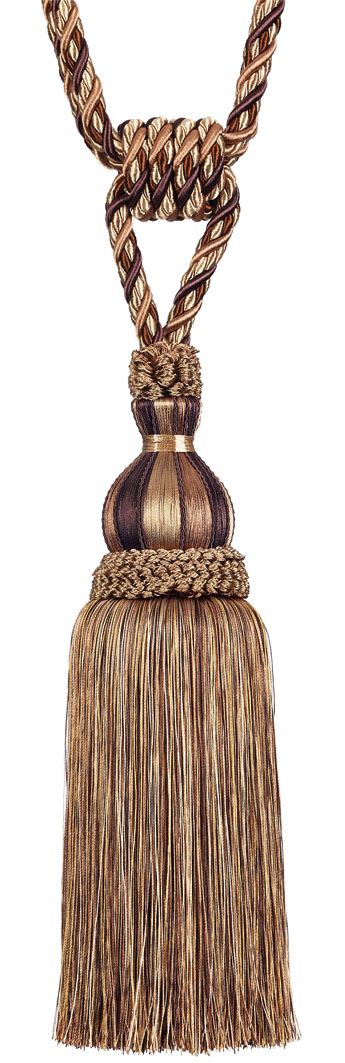 Кисть подхват для штор Gold Textile Goccia