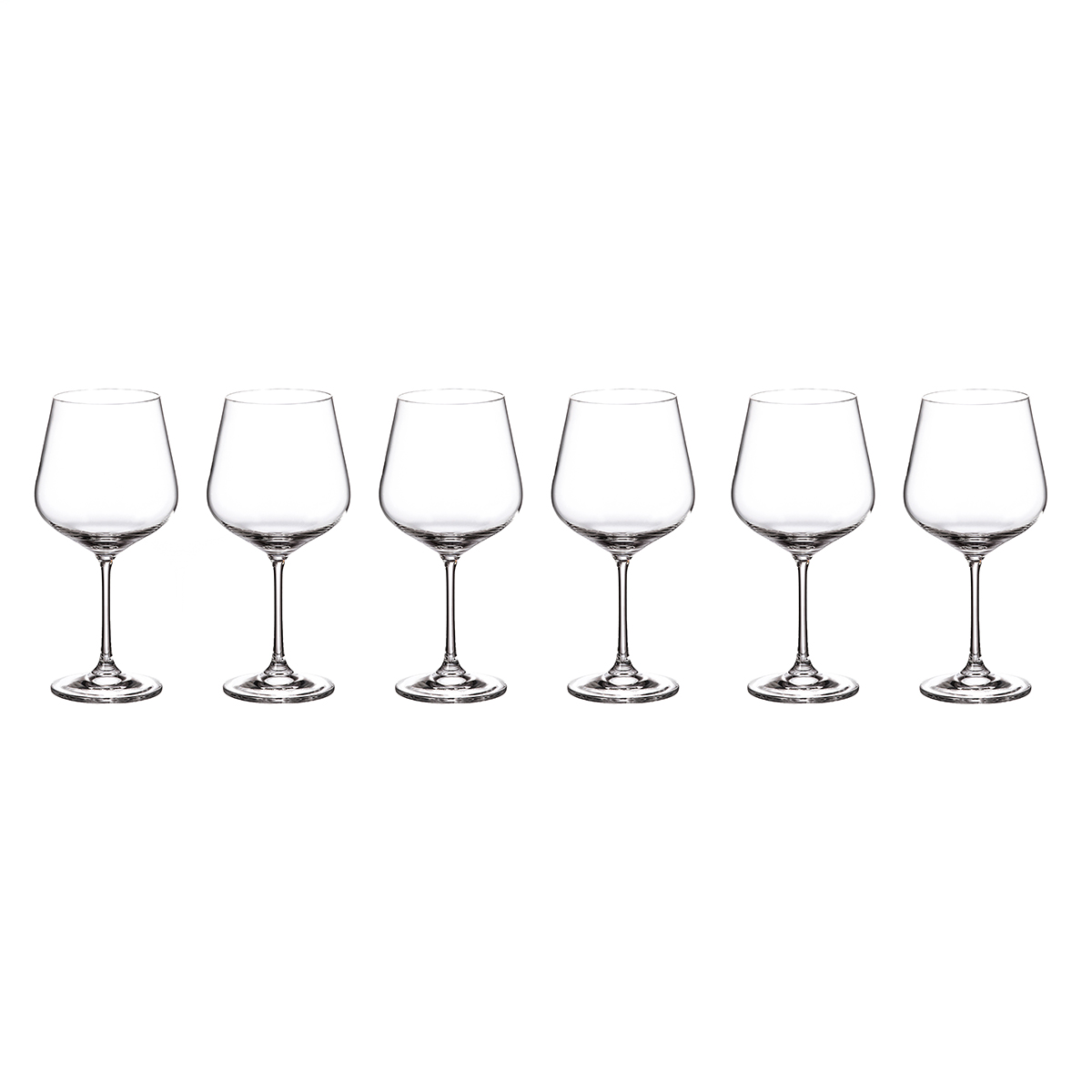 Набор бокалов для вина Crystalite Bohemia Strix/Dora