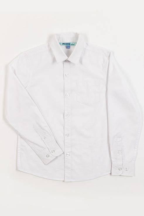 Рубашка детская Modis цв. белый р.152