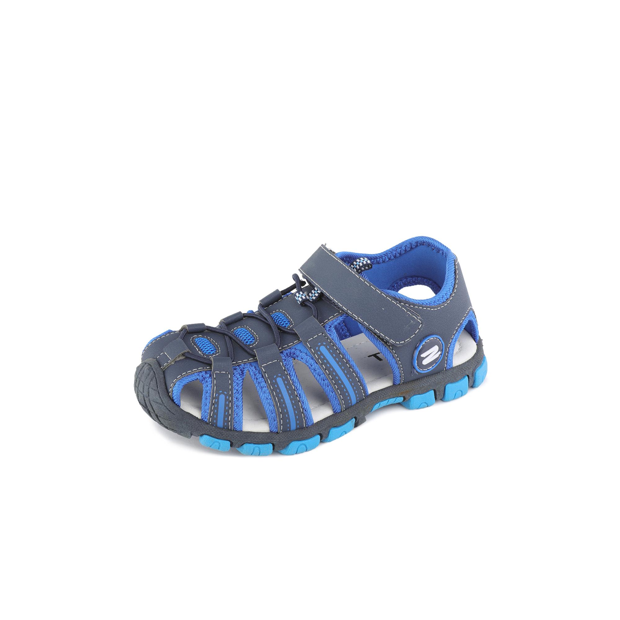 Купить 79-01BO-075ST, Сандалии для мальчиков ZENDEN, цв. синий, р-р 35,