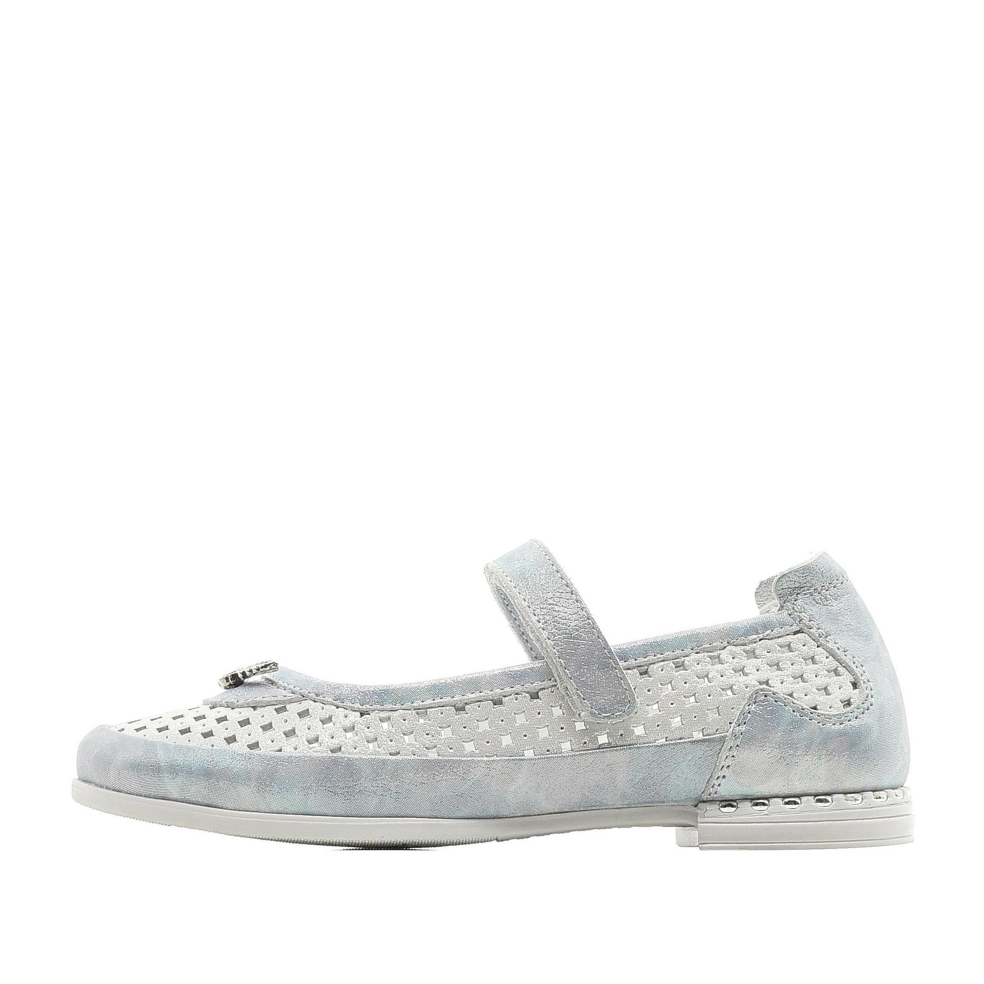 Купить 579-01GO-027KK, Туфли для девочек ZENDEN, цв. белый, р-р 34,