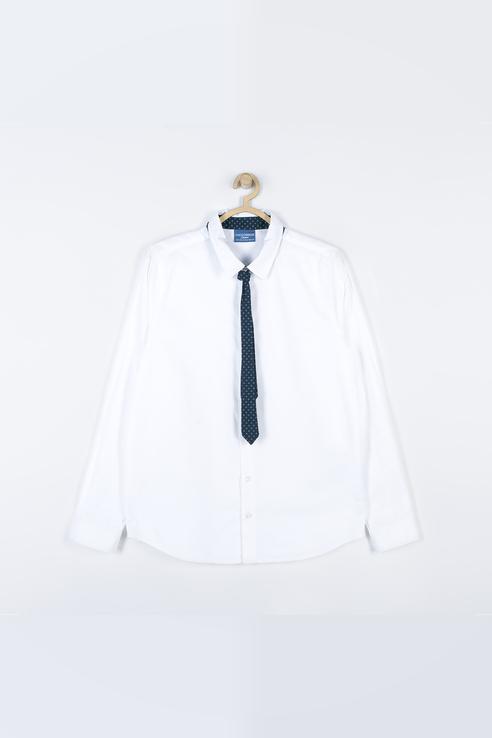 Рубашка детская COCCODRILLO цв. белый р.158