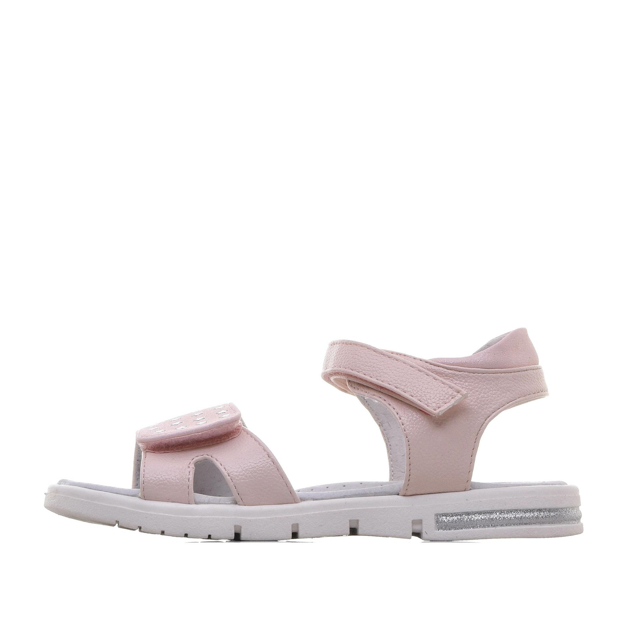 Купить 215-01GO-040SK, Сандалии для девочек ZENDEN, цв. розовый, р-р 32,
