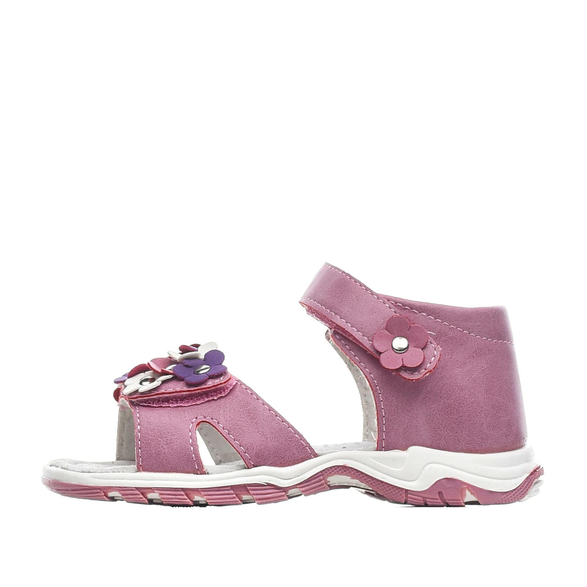 Купить 215-01GO-023GK, Сандалии для девочек ZENDEN, цв. розовый, р-р 28,