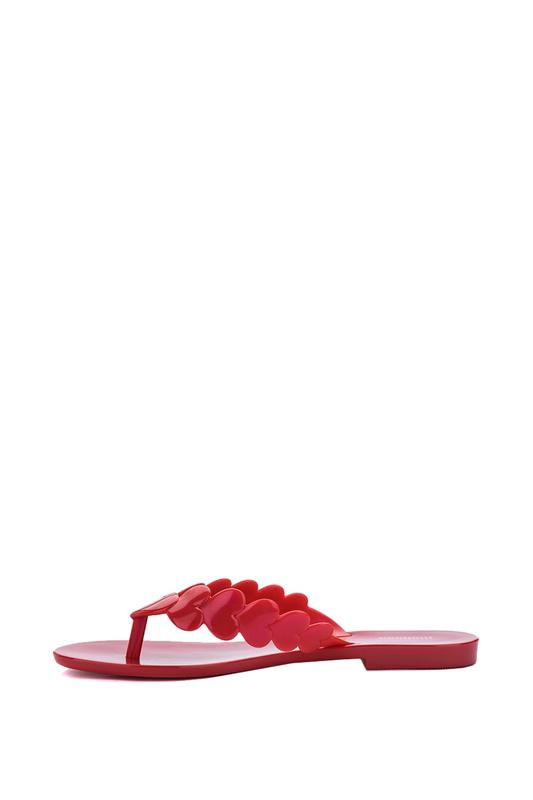 Шлепанцы женские Melissa 32888 красные 37 RU