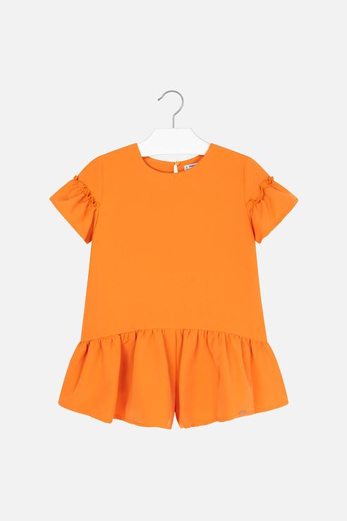 Купить 6801_оранжевый, Комбинезон Mayoral 6801 цв.оранжевый р.140,