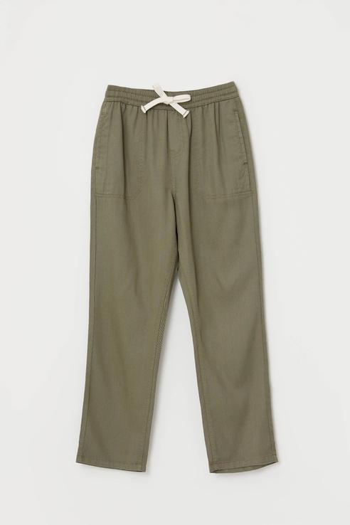 Купить Повседневные брюки из лиоцелла Sela 1804071593 Хаки 152,