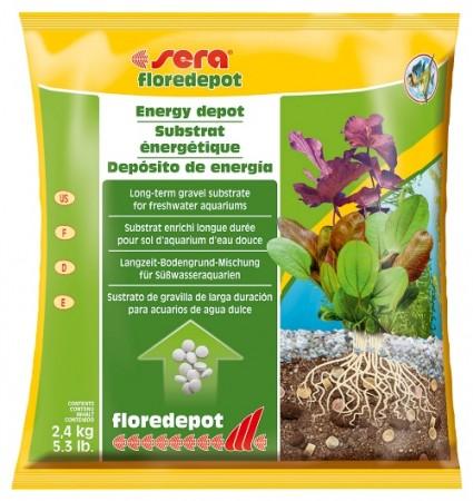 Грунт для растений Floredepot 2,4 кг (пакет)