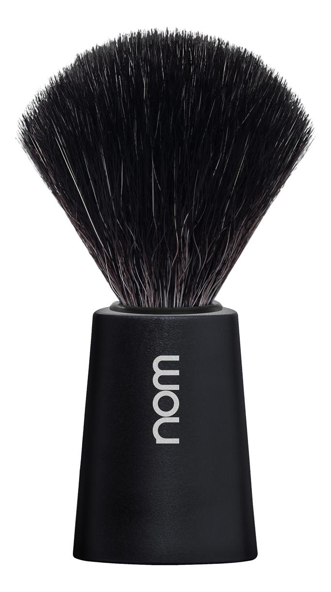 Помазок натуральный черная фибра Muehle Nom Carl