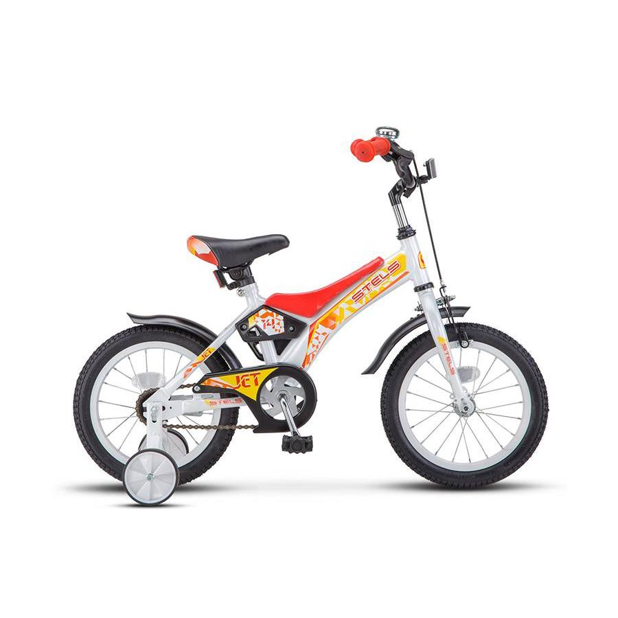Велосипед STELS Jet 14 (Z010) белый/красный Jet 14 (Z010)