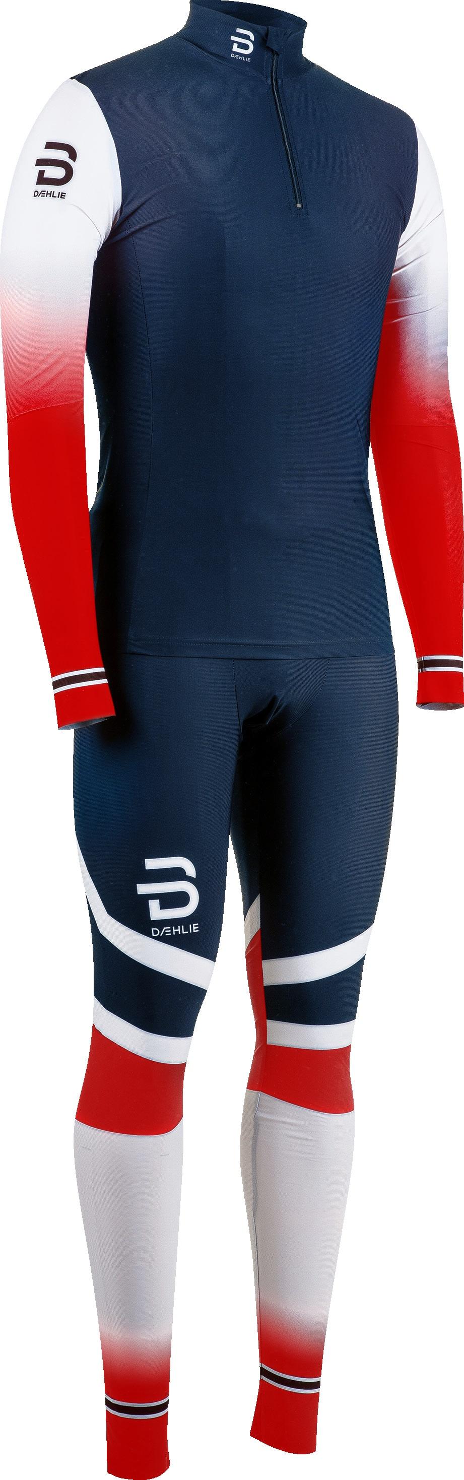 Комбинезон Bjorn Daehlie Racesuit Nations 2-Piece, norwegian flag, L