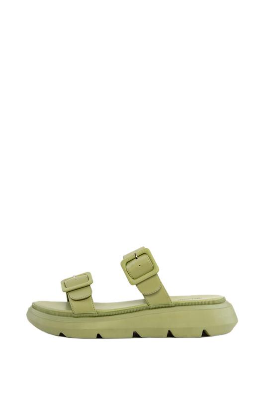 Шлепанцы женские Milana 211097-1 зеленые 41 RU