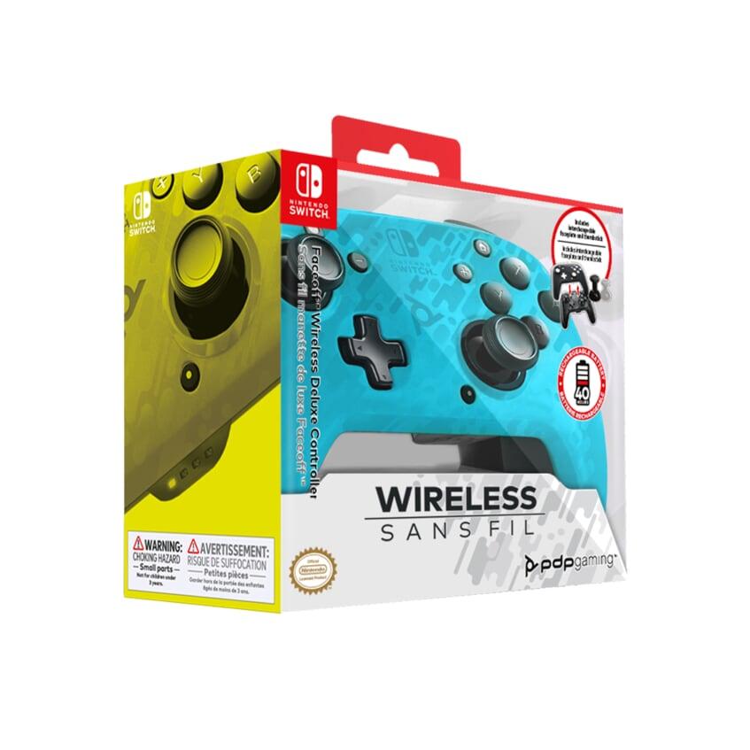 Геймпад Faceoff Blue Camo для Nintendo Switch