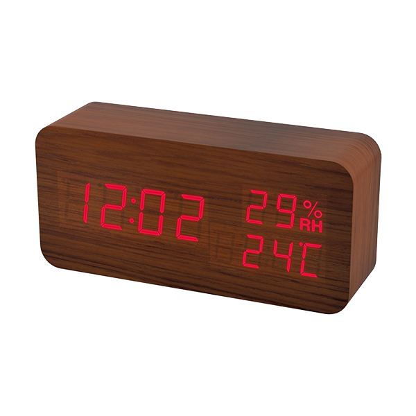 Часы будильник Perfeo LED