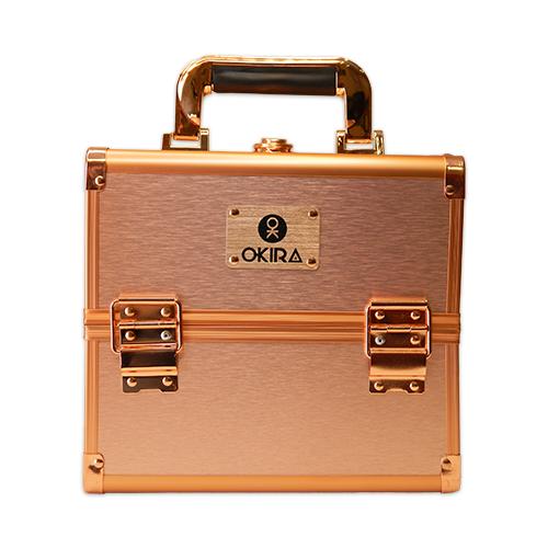 Бьюти кейс для косметики Okira CWB 5350 розовое золото