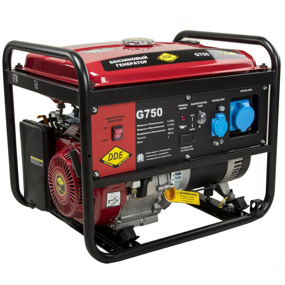 Бензиновый генератор DDE G750 (917 453)