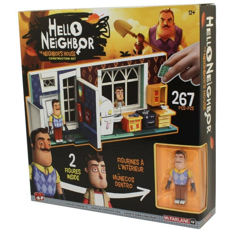 Купить Конструктор Привет, сосед! Большой дом соседа 267 деталей McFarlane Toys 6366,