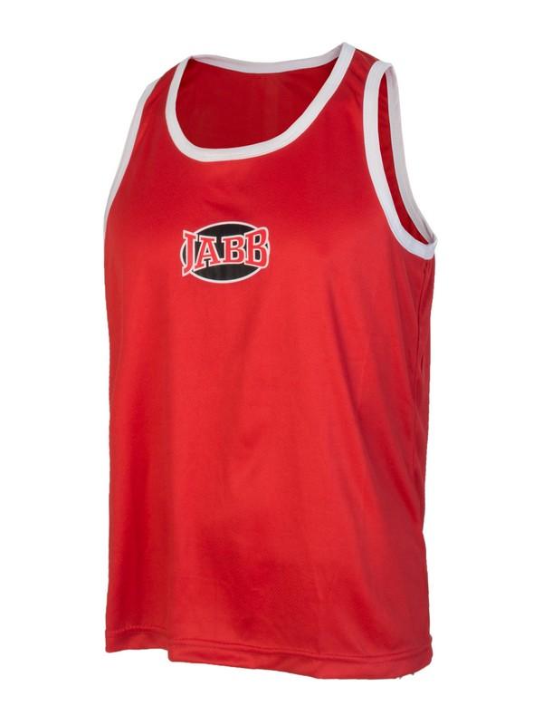 Майка боксерская JABB BV красный, размер XL