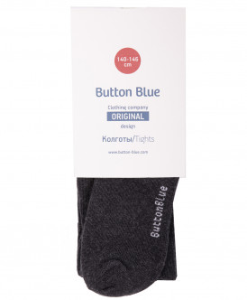 Купить 218BBBU84012300, Колготки для мальчиков Button Blue, цв. серый, р-р 98-104