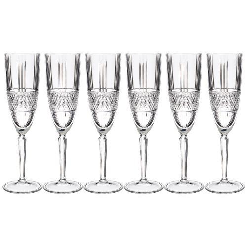 Набор бокалов для шампанского RCR, Brillante,