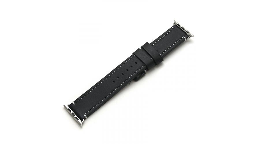 Ремешок для смарт-часов CARCAM для Apple watch 42mm New Black.
