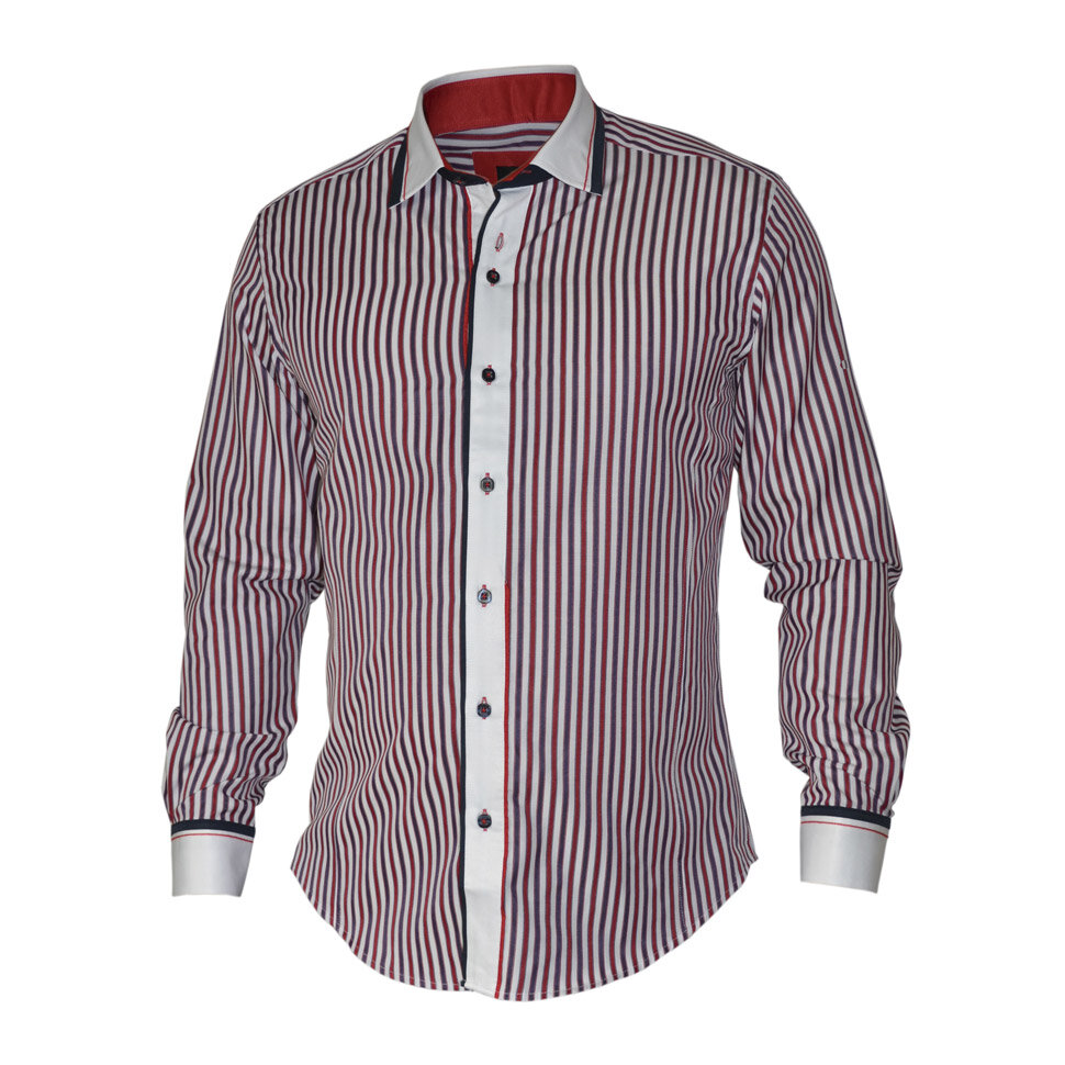 Рубашка мужская Styler 21-132 разноцветная XL
