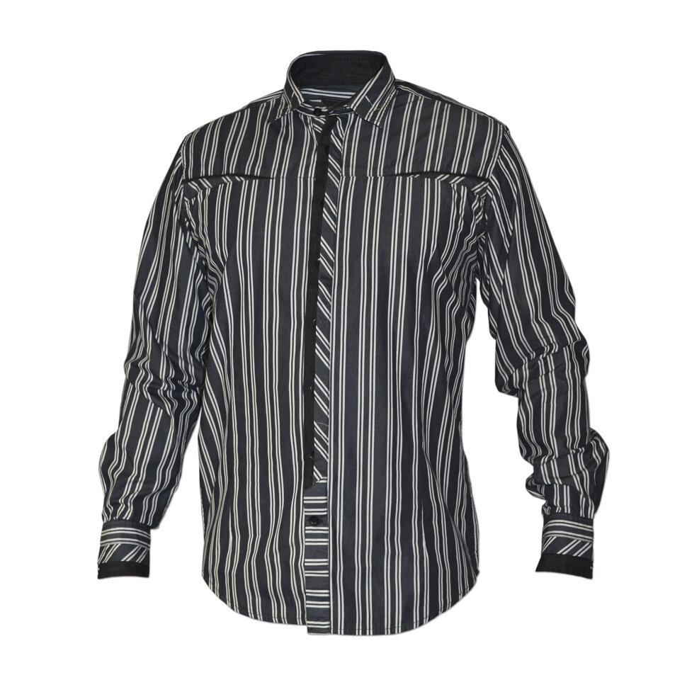 Рубашка мужская Styler 21-078 разноцветная XL