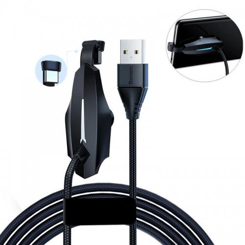 Кабель Baseus Colorful Sucker RPG Data Cable USB for Type-C 2м Black