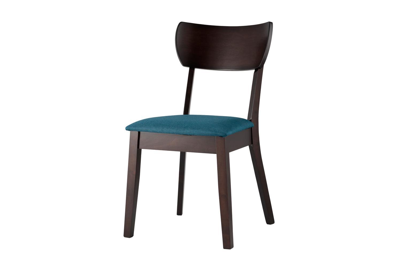 Стул Hoff Tomas 80354000, синий/эспрессо