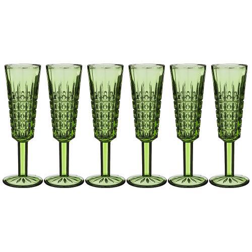 Набор бокалов для шампанского Lefard, Muza Color,