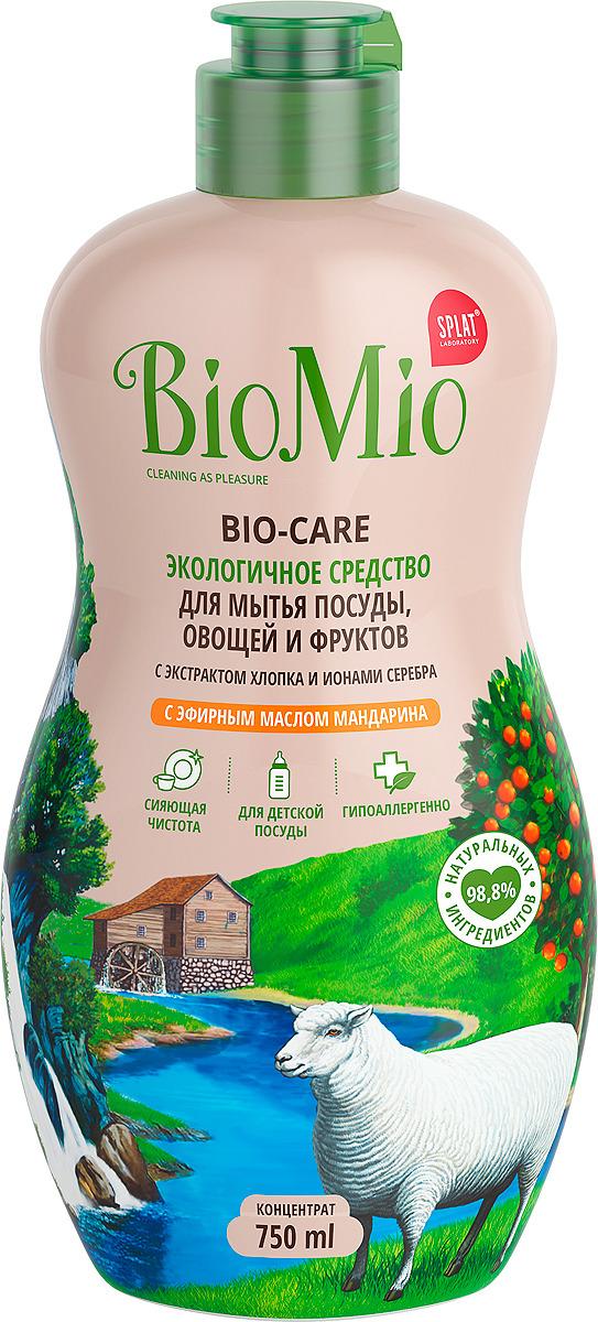 Средство для посуды BioMio с ароматом мандарина