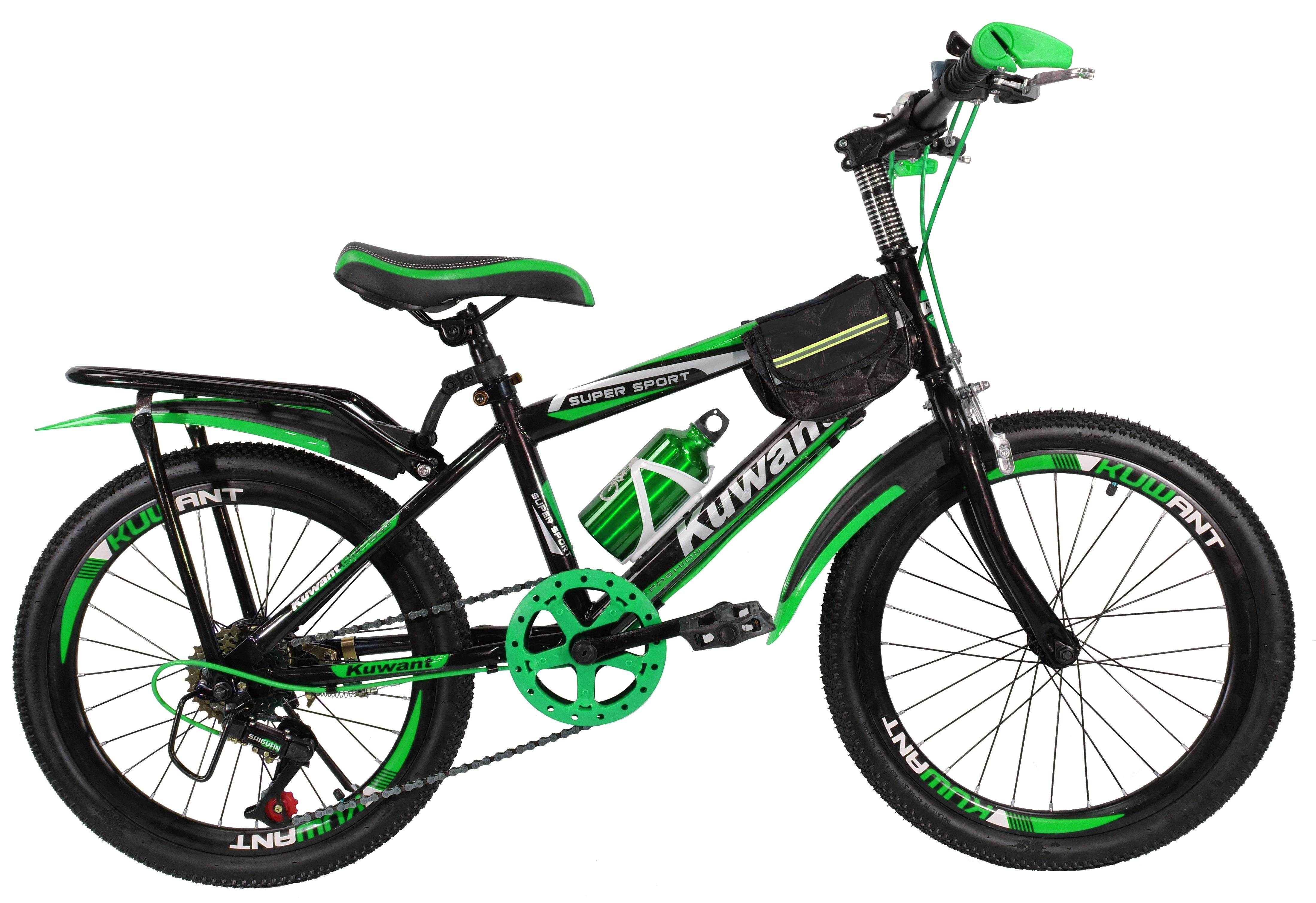 Детский велосипед Kuwant R-20 зеленый