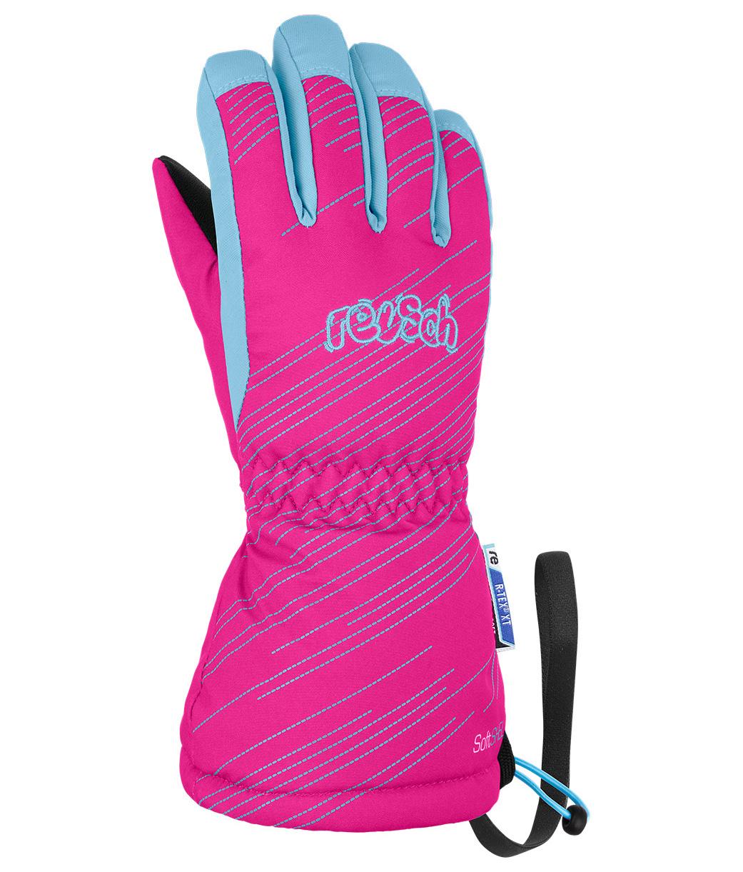 Перчатки Горнолыжные Reusch Maxi R-Tex Xt Knockout Pink/Bachelor Button (Inch (Дюйм):Iii)
