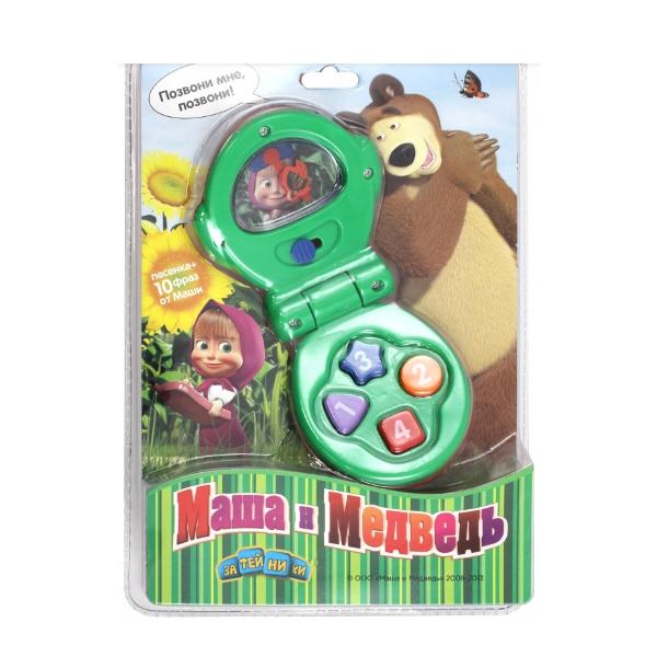 Телефон игрушечный МАША И МЕДВЕДЬ GT6596