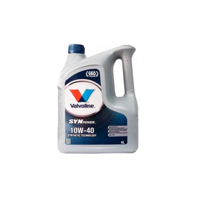 Моторное масло полусинтетическое Valvoline SYNPOWER 10W-40 (4л) 872260