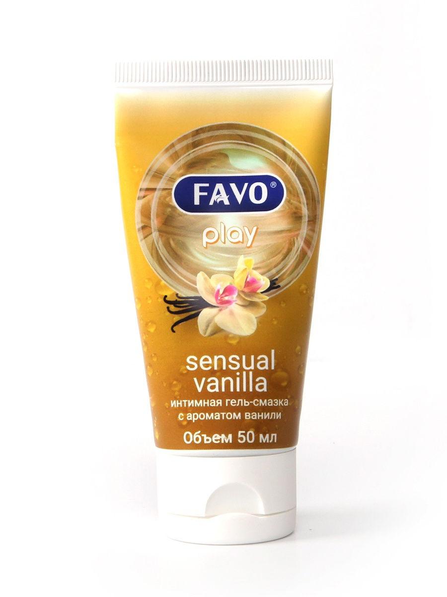 Купить Чувственная ваниль, Гель-смазка FAVO Чувственная ваниль 50 мл