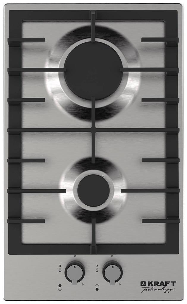 Встраиваемая газовая варочная панель KRAFT TECHNOLOGY TCH-HV3710X