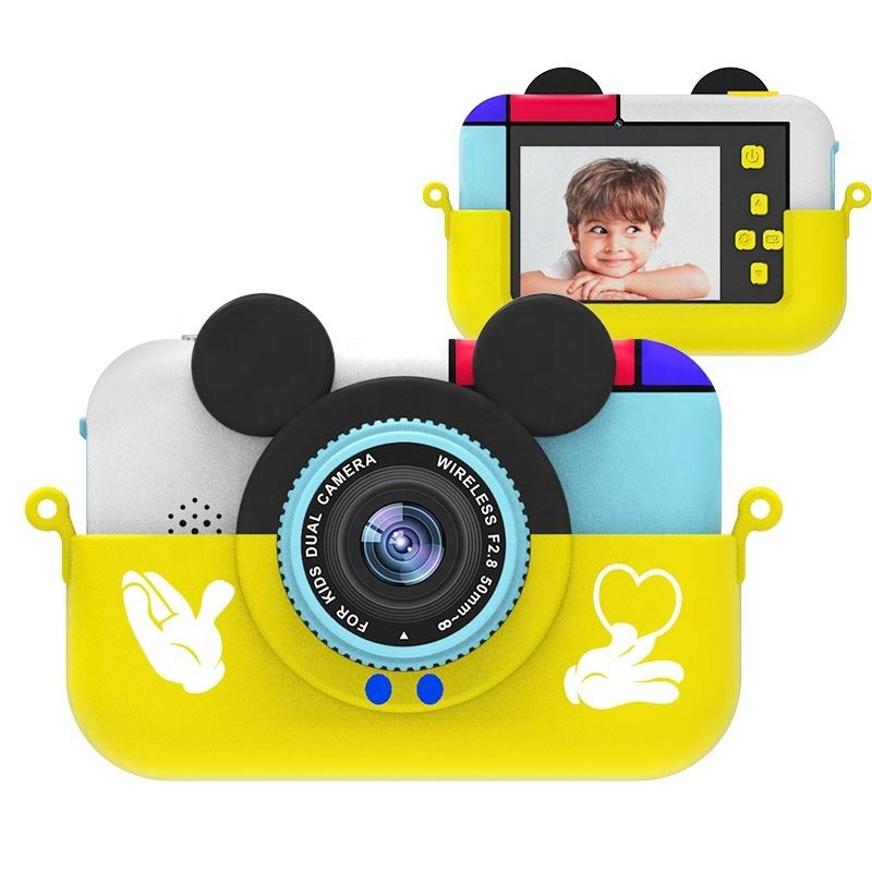 Купить Детский фотоаппарат Микки Желтый, SmileZoom,