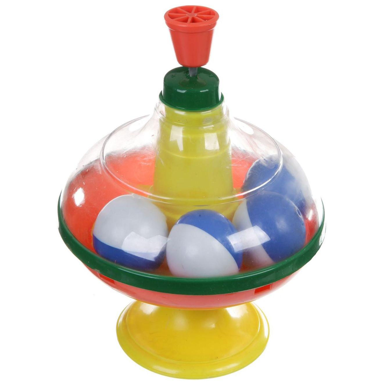 Купить Юла с шариками, в сетке, ABtoys,