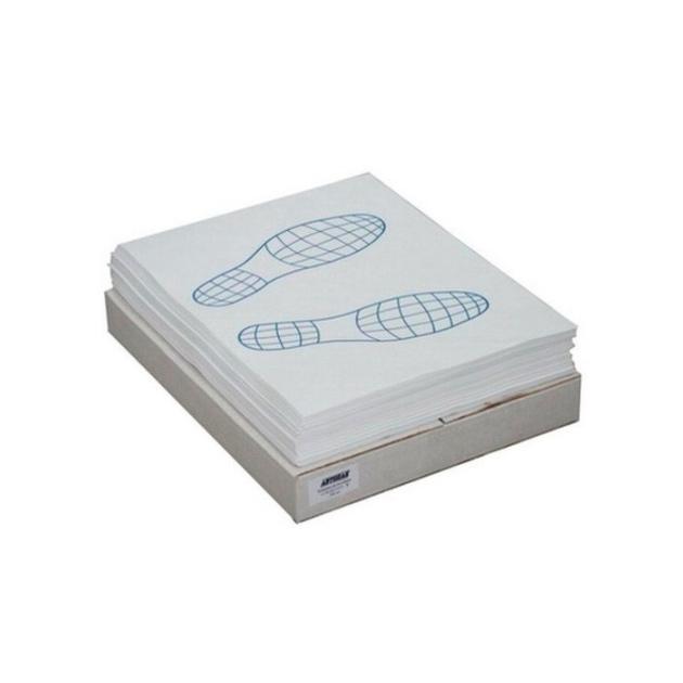 Коврик салона бумажный защитный однослойный одноразовый 40x52