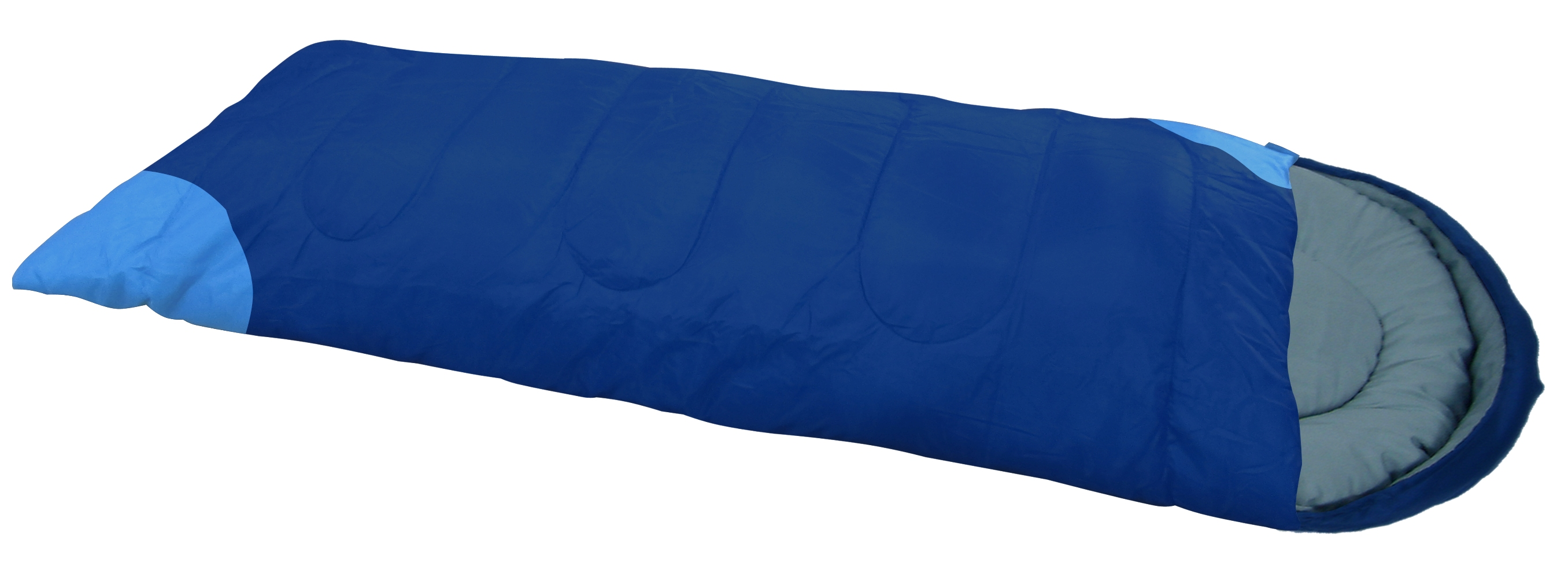 Спальный мешок Greenwood RS FS-1008 синий, правый