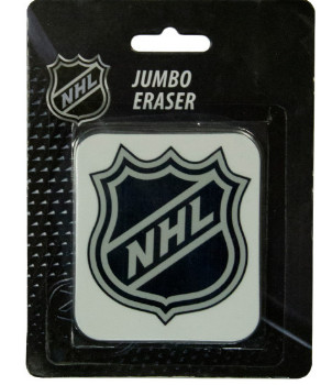 Ластик оригинальный NHL, белый, 6,5х8 см, арт. 59407101