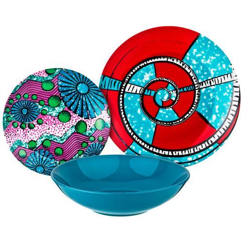 Набор столовой посуды Lefard, 18 предметов,