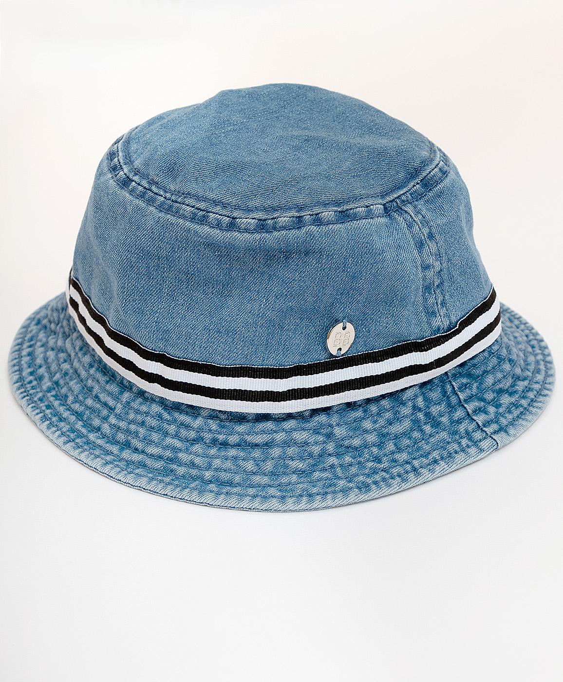 Панама детская Button Blue, цв. голубой