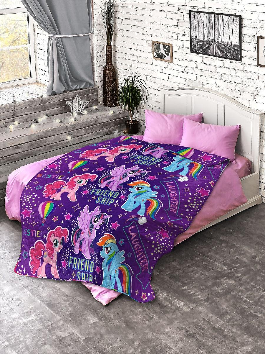 Купить Покрывало стеганое Непоседа My Little Pony , 145х200 см, (рисунок: Дружба 16119),